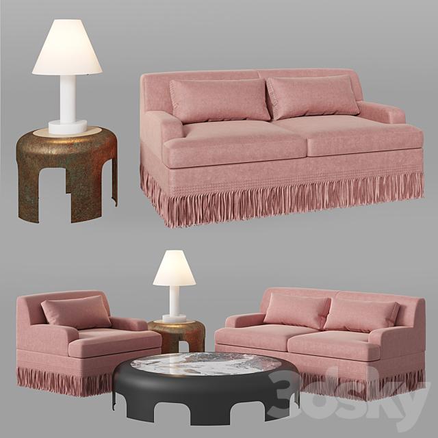 bottega veneta rudi sofa set