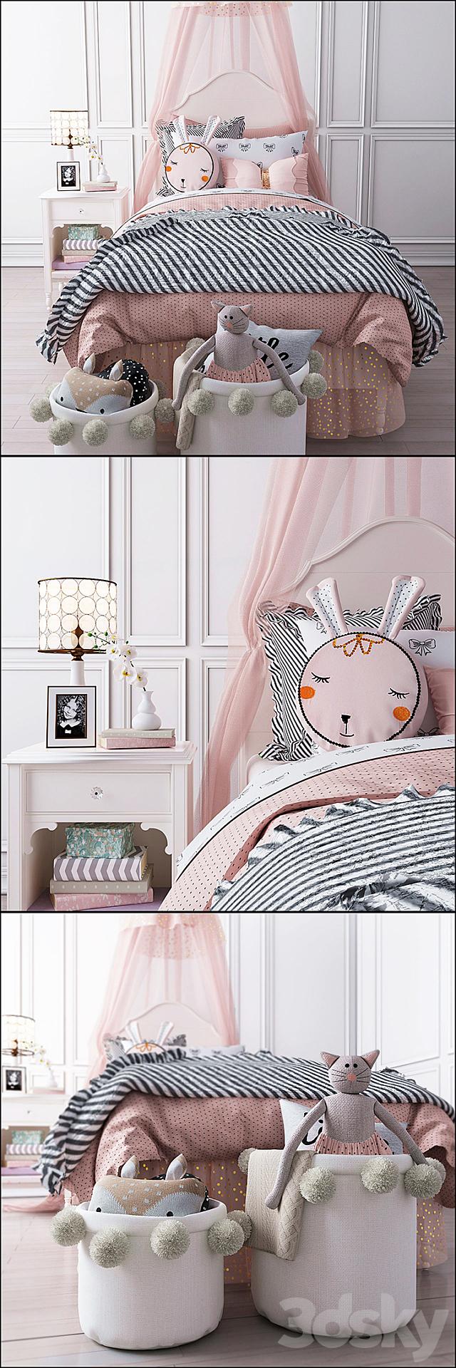 Pottery Barn Juliette bedroom set