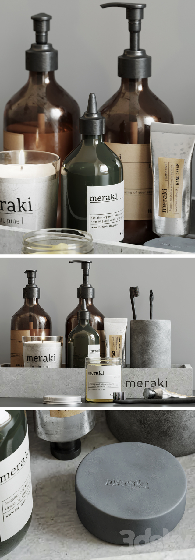 Meraki Decorative Set