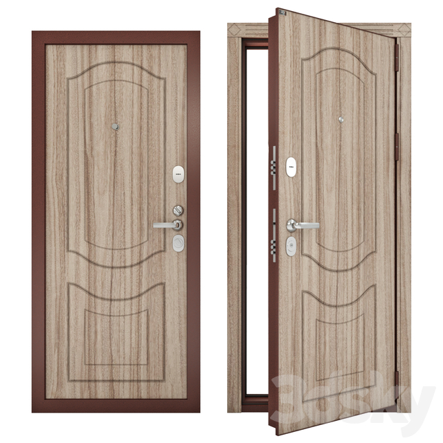 Steel entrance doors Groff P (Premium) p3-300