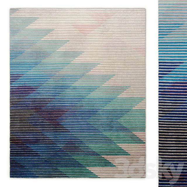 Lake blue rug