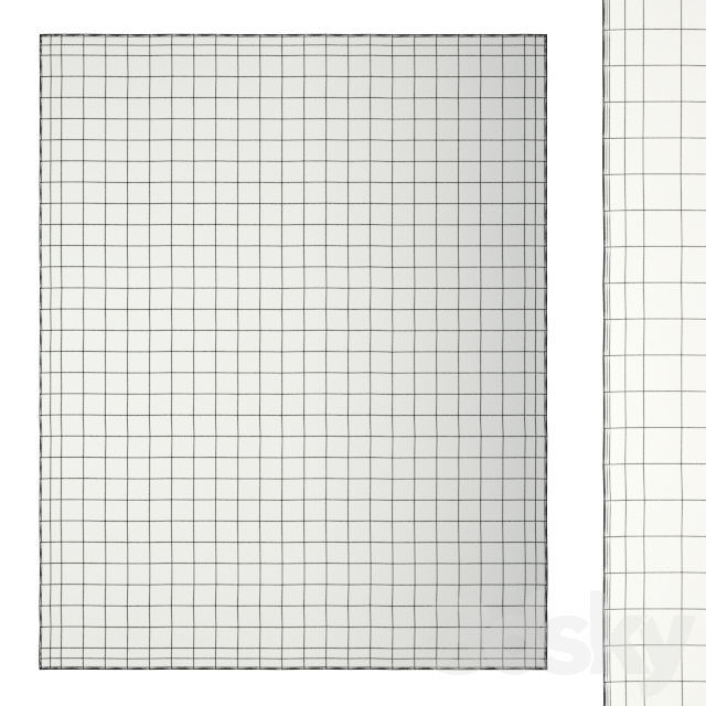Geometric rug