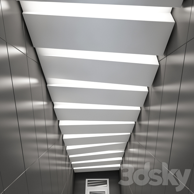 3d models: Other decorative objects - False ceiling ...