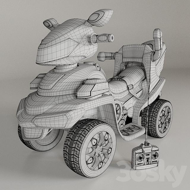 The children's ATV on the Bambi accumulator