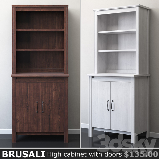 Ikea Brusali Tall Cabinet