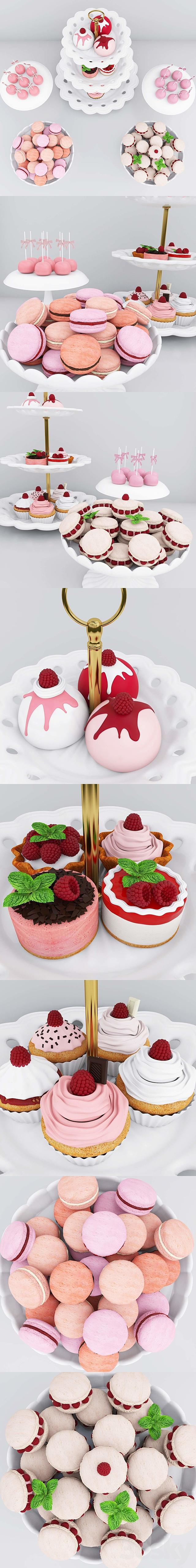 Raspberry candy bar