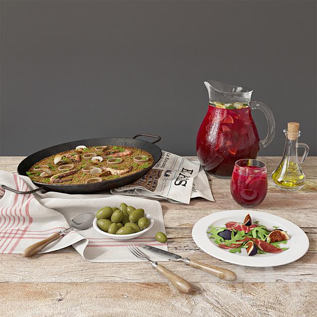 Paella with seafood | Paella de marisco
