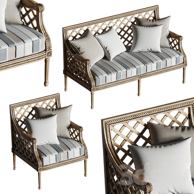 Massant outdoor furniture set