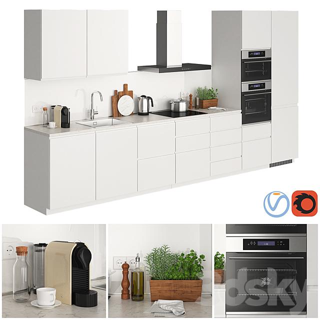 Ikea Metod Voxtorp Glossy White