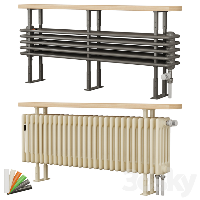 Arbonia radiator bench