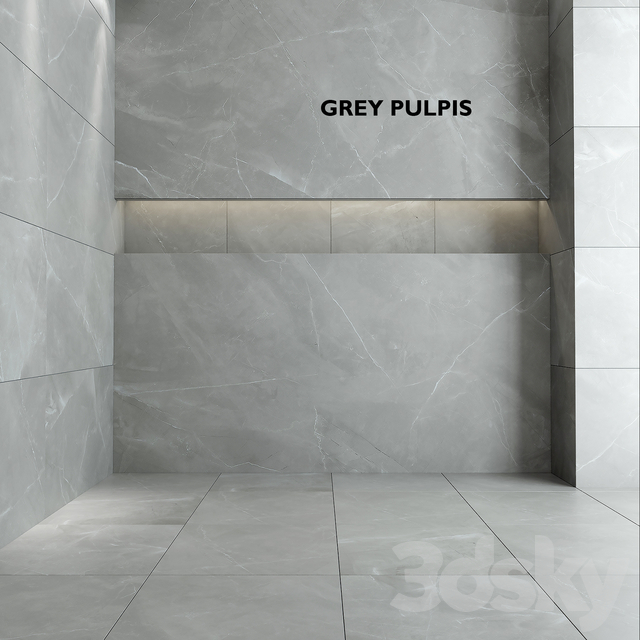 Tubadzin Monolith Gray Pulpis