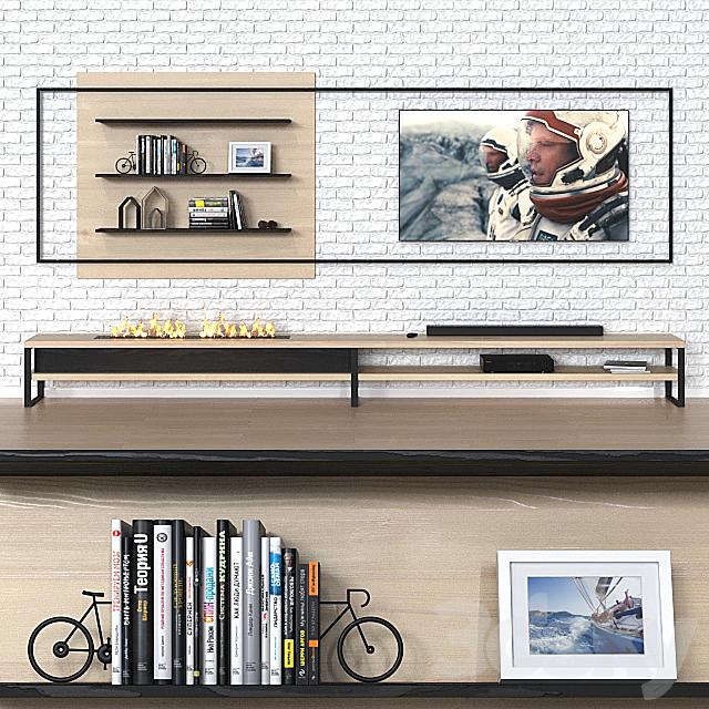 TV wall 012.
