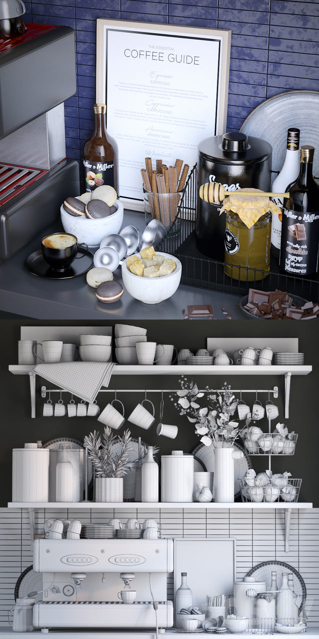 Decorative set for the kitchen 4