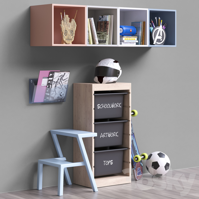 Toys and furniture set 49