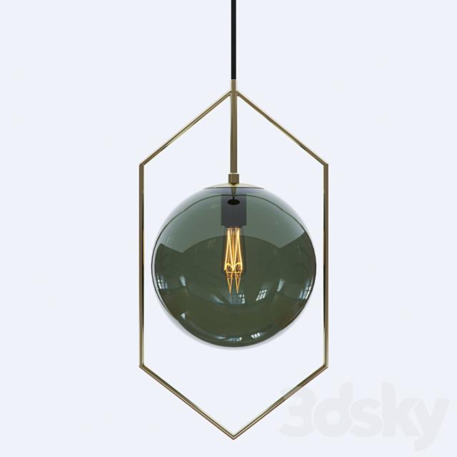 GLASSBALL 3 lampatron pendant light