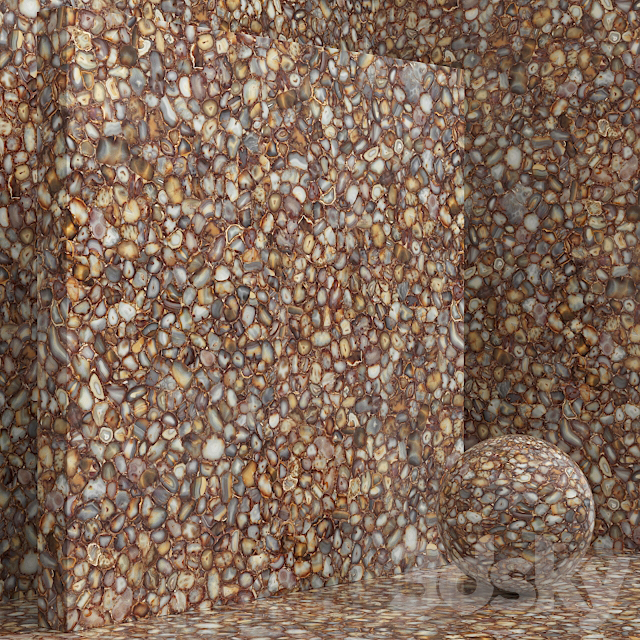 Material (seamless) - Cosentino Carnelian Stone