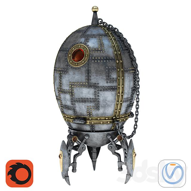 """Souvenir - box """"Cosmic Egg"""""""