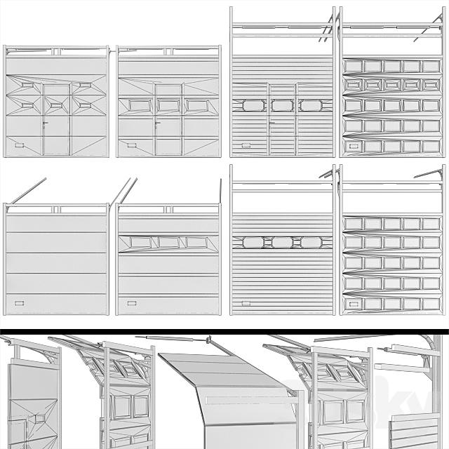 Gates for garage or warehouse