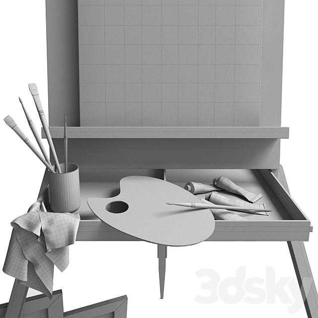 artist's set