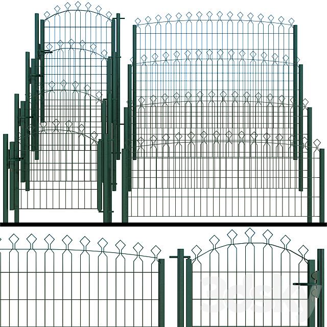 Gate, wicket