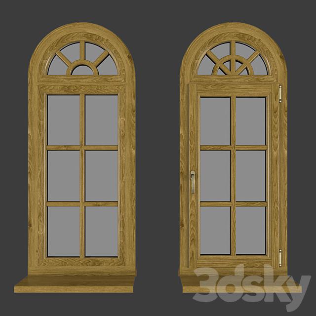 Wood - aluminum windows, view 05 part 02 set 01