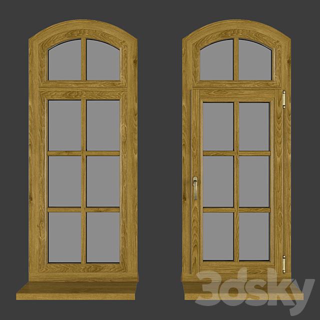 Wood - aluminum windows, view 05 part 02 set 03