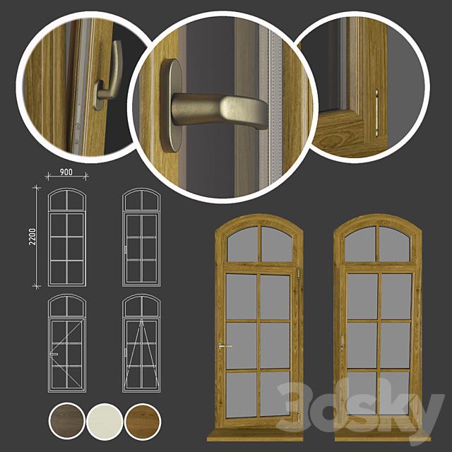 Wood - aluminum windows, view 05 part 02 set 04