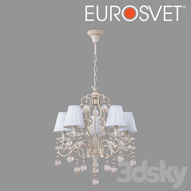 OM Chandelier with crystal Eurosvet 12075/5 Ivin