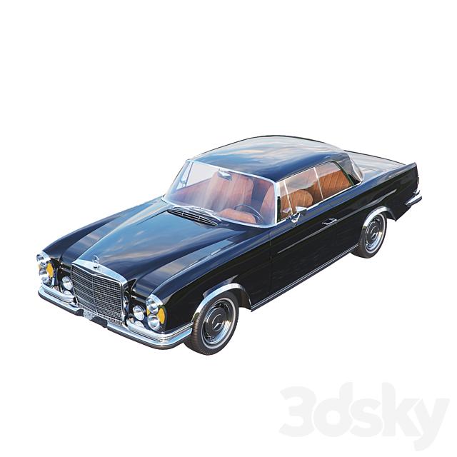 Mercedes - Benz SE280 3.5 Coupe 1970