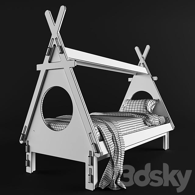 Children's bed PLYWOOD