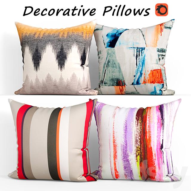 Decorative pillows set 378 Etsy