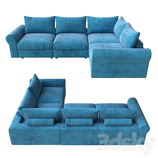 Sofa modular Tahiti from Geniuspark