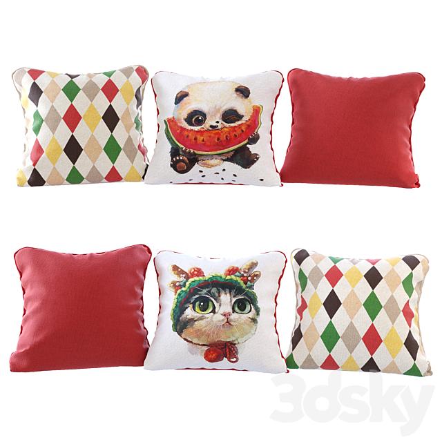 Pillows Cute Animals 02 YOU