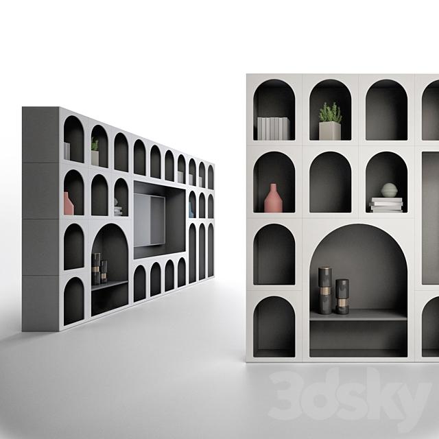 Bonaldo Cabinet de Curiositè