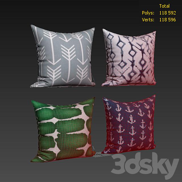 Decorative pillows set 417 Etsy