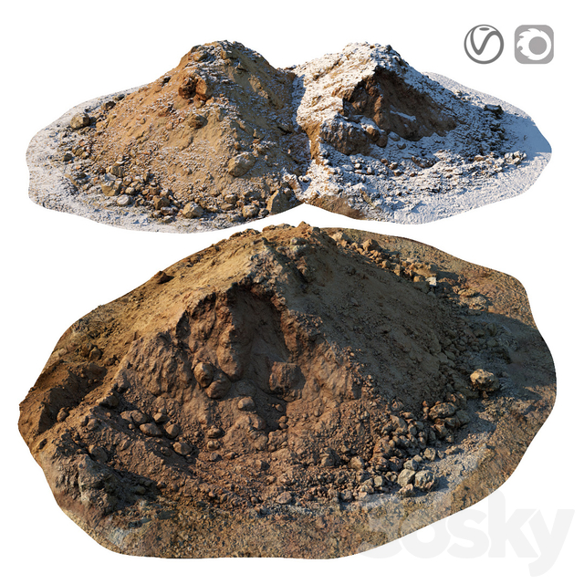 Pile of clay