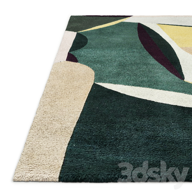 Polia Rug by Toulemonde Bochart