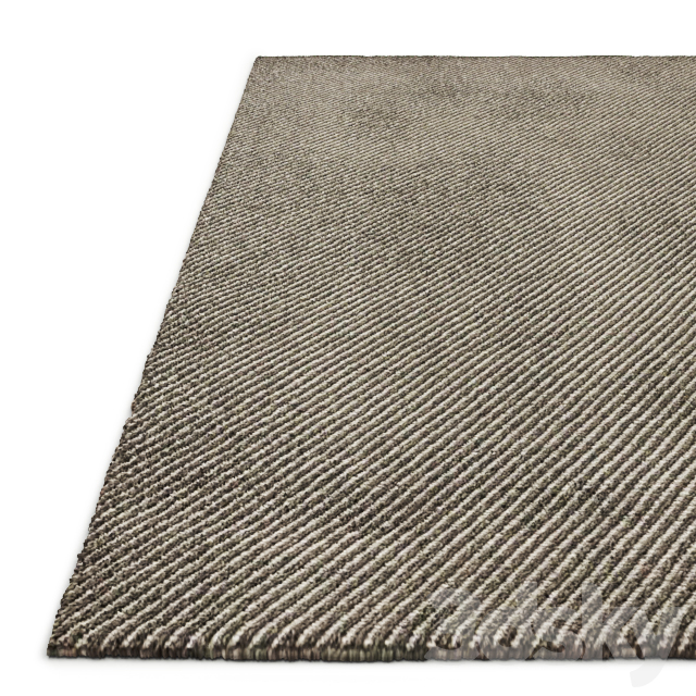 Garden Layers Green Rug by Gan