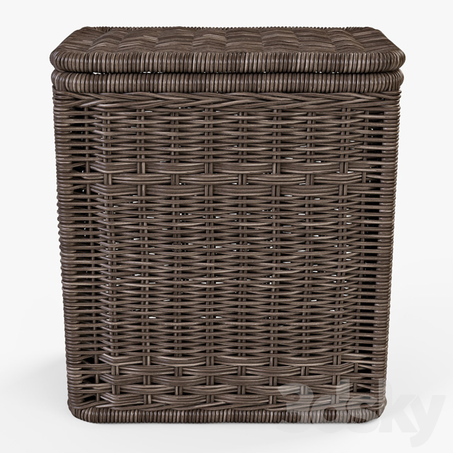 Laundry basket 008 / brown color