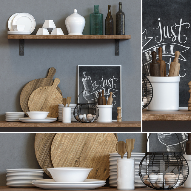 Kitchen Accessories Set-02