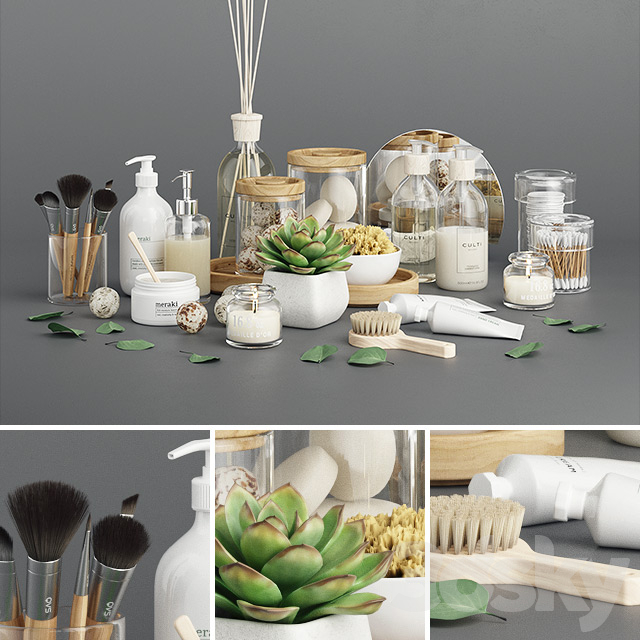 Ola Bathroom Set