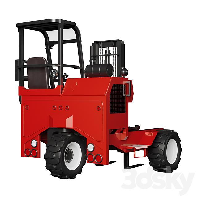 Moffett M550 loader