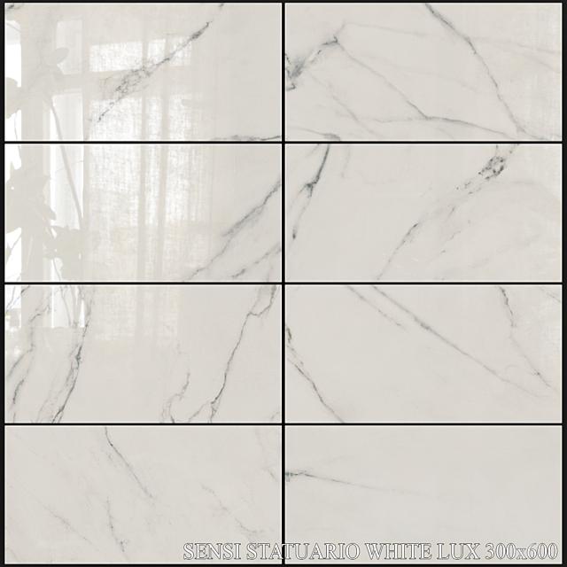 ABK Sensi Statuario White Lux 300x600
