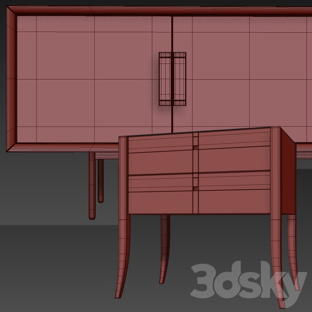 Chest of drawers and cabinets from Selva. Kenton sideboard, nightstand jubilee