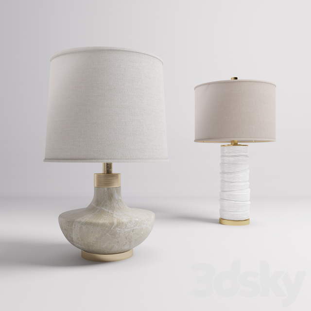 Table lamps UTTERMOST: 27083, 27311