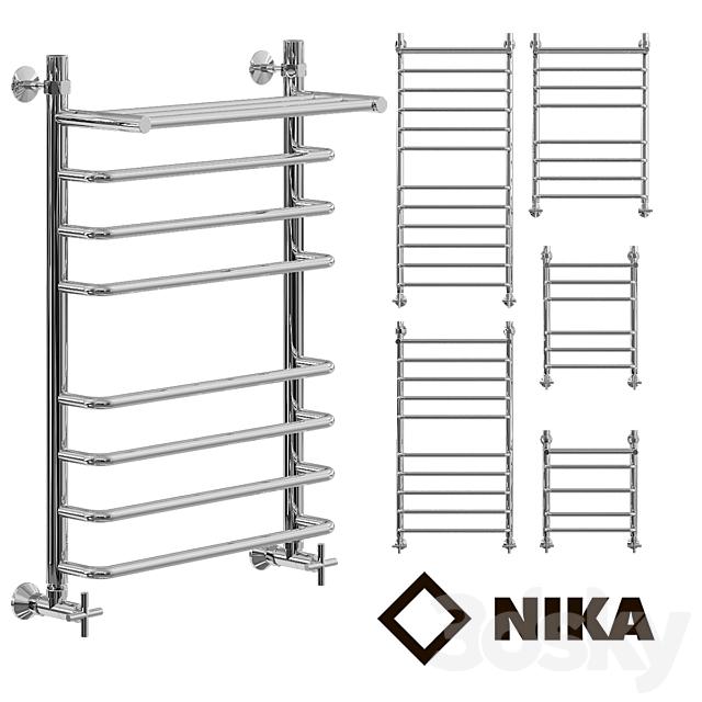 Heated towel rail of Nick L90 (G) VP