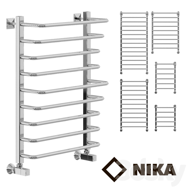 Heated towel rail of Nick L90_LM_1