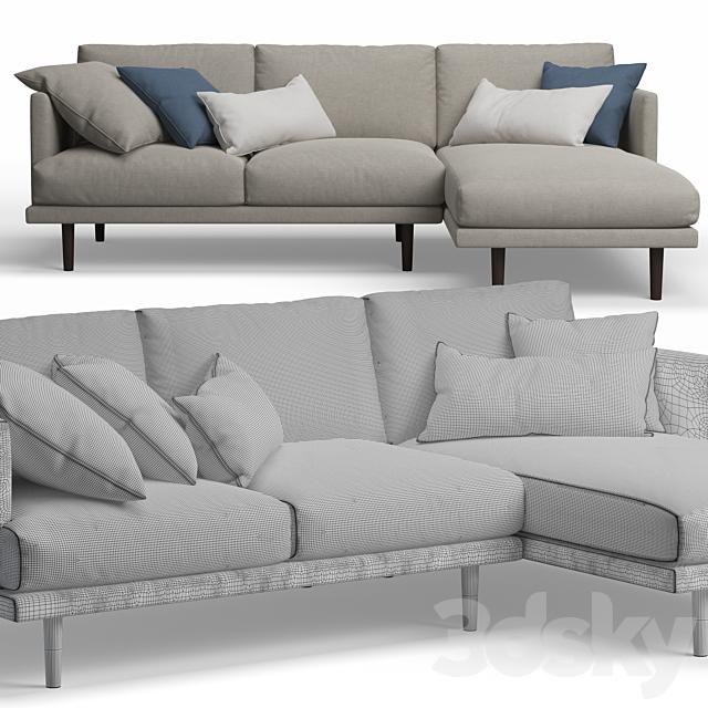 Ottilie Chaise Corner Sofa