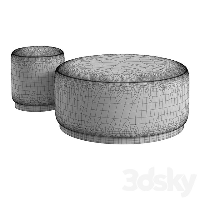 Crate & Barrel / Zoey Ottoman