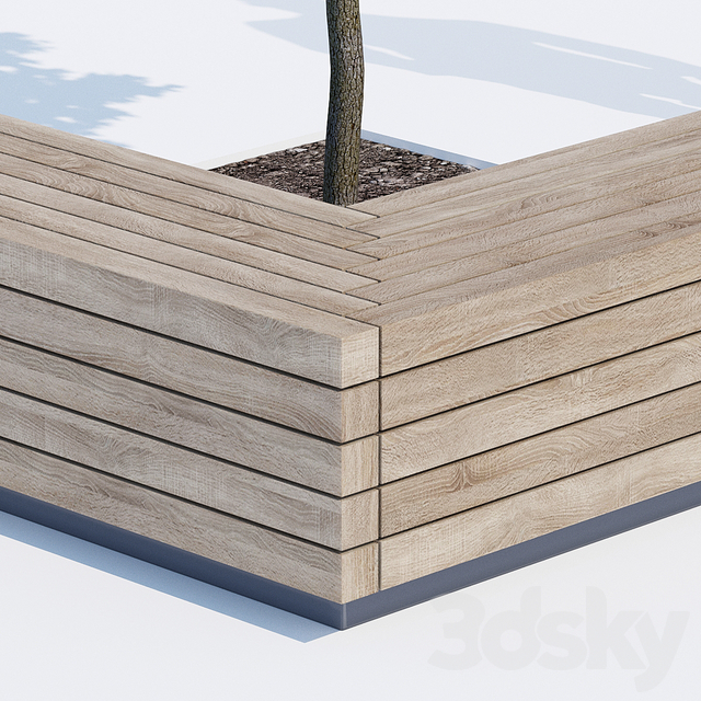Solid peano benches